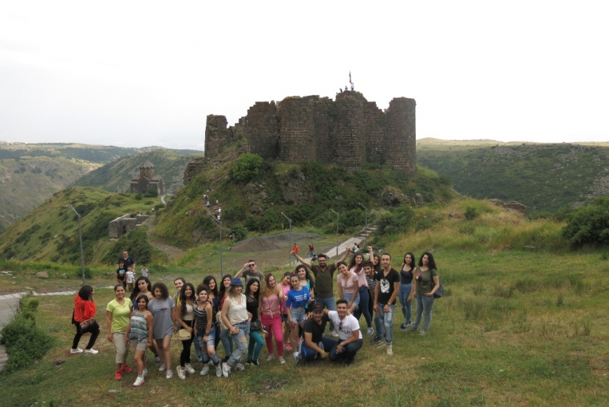 Syrian Refugee Youth Discovering Armenia