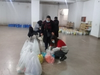 About 50 families living in Vanadzor and nearby villages received humanitarian aid